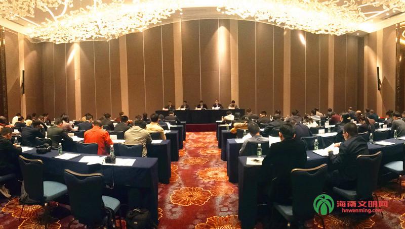 1、 1月21日下午,海南省文明办主任会议在海口召开。图为会议现场。.jpg